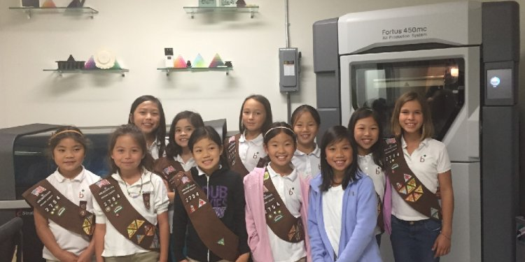 California Girl Scout Troop