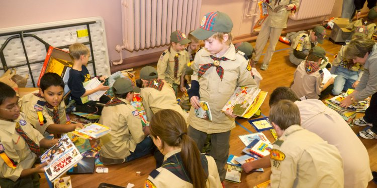 101 great Scout service