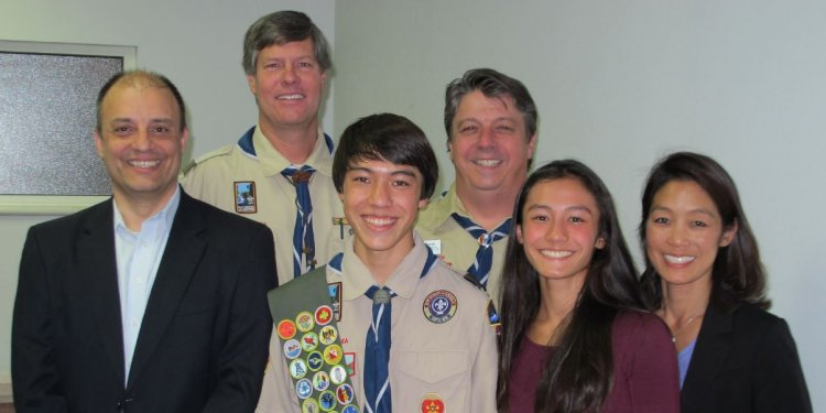 Aaron Bass_Eagle scout