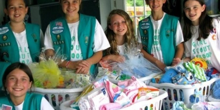 Beset the Girl Scouts