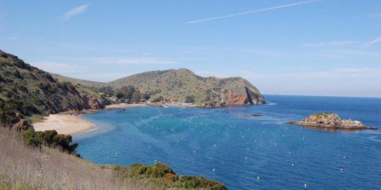 Emerald Bay on Catalina Island