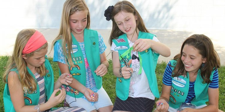 Meet the new Girl Scout