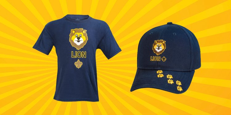 Lion-Scouts-T-shirt-and-hat