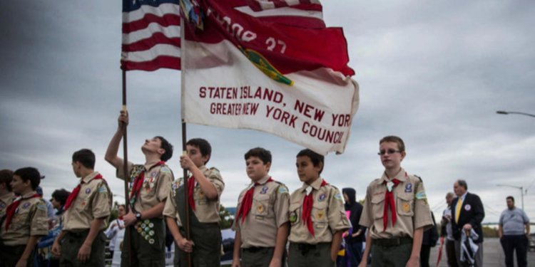 Boy Scouts president questions