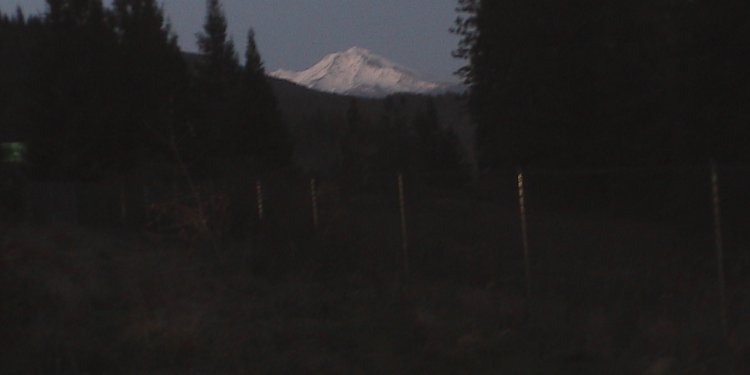 Mount Shasta - Far Away View