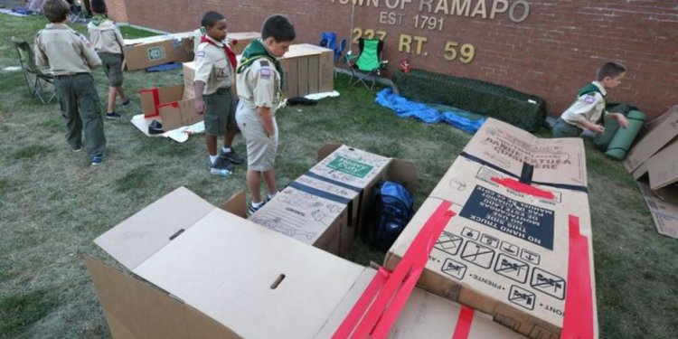 Ramapo scouts to create box