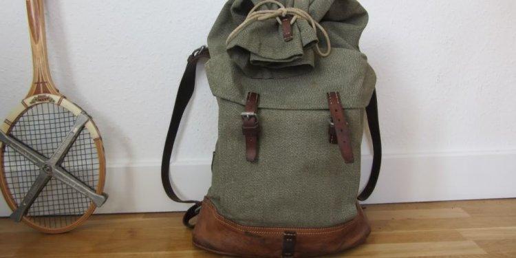 Vintageswissarmybackpack