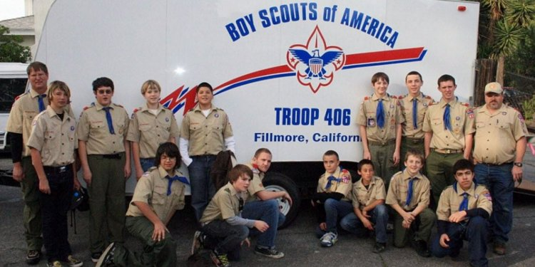 Boy Scouts of Troop 406