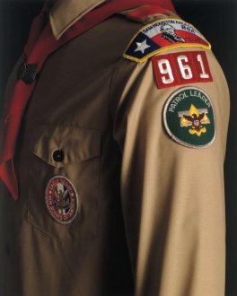 A California chapter of the Boy Scouts has challenged the organization's ban on gay members by recommending an openly gay former scout for Eagle, the highest rank a scout can attain. A supporter called the BSA's policy 'something out of the Dark Ages.'