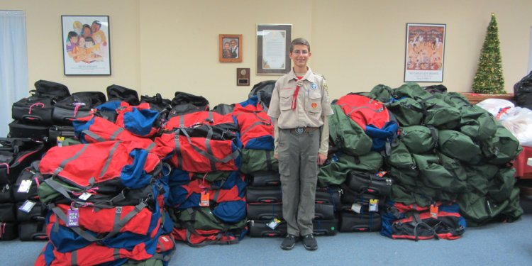 Boy Scout California Eagle Project requirements