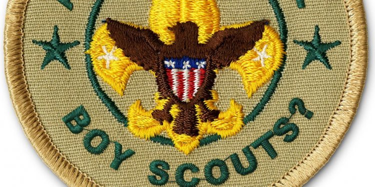 Boy Scout California patches uniform