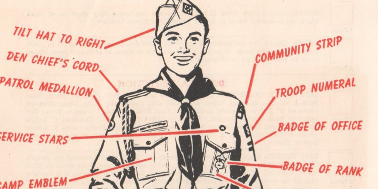 Mens Boy Scouts California uniform