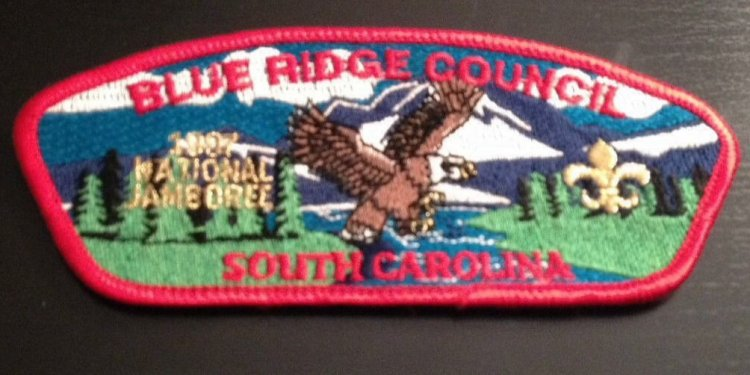 Boy Scout California Jamboree patches