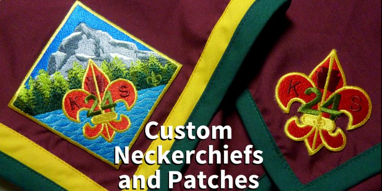 Custom Boy Scouts California Patrol patches