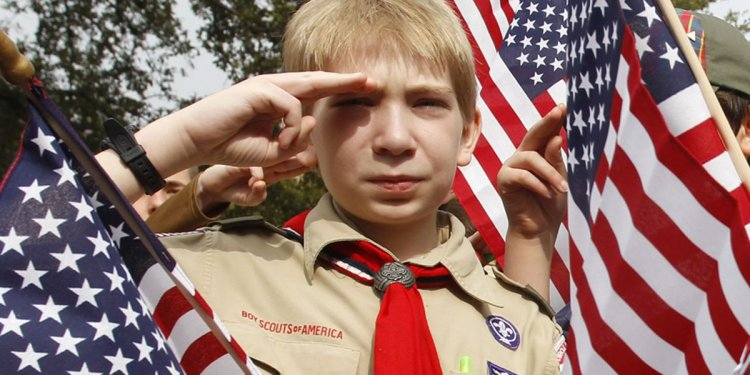 Type a Boy Scout California uniform
