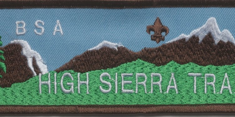 Boy Scout California Polar Bear Patch