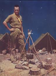 MR SCOUTMASTER NORMAN ROCKWELL