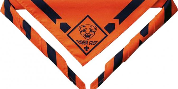 Boy Scout California uniform neckerchief
