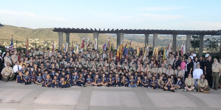 Boy Scouts California religious medals