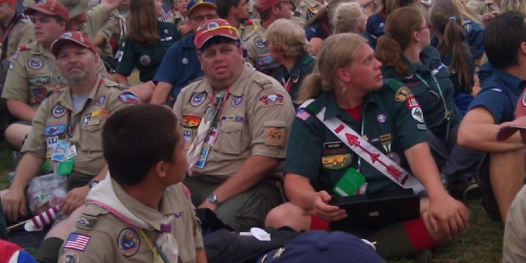 West Virginia Boy Scouts California Camp