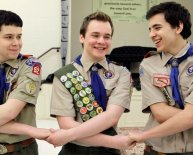 What are the Boy Scout California ranks?