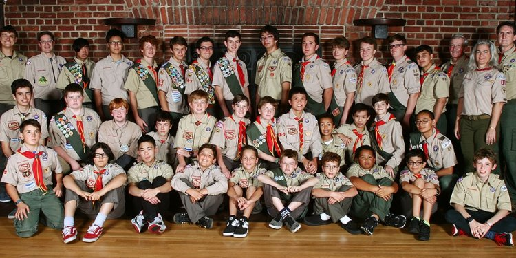 Boy Scout California Troop meetings activities
