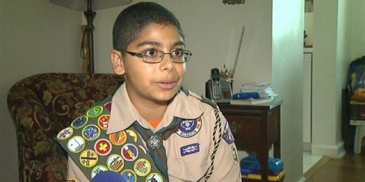 Badge Placement on Boy Scout California uniform